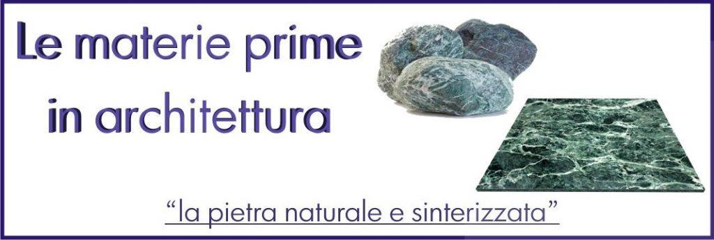 La pietra naturale e sinterizzata
